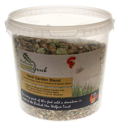 Nature's Grub Poultry Herb Garden Blend - 1.2kg