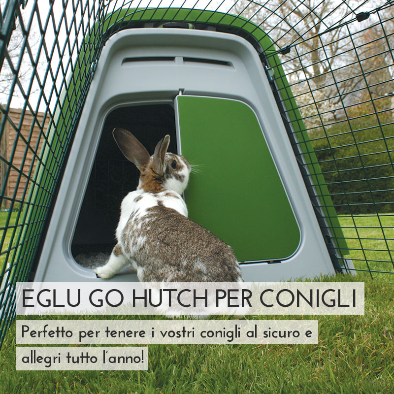 Main Eglu Go Rabbit Hutch Mobile IT